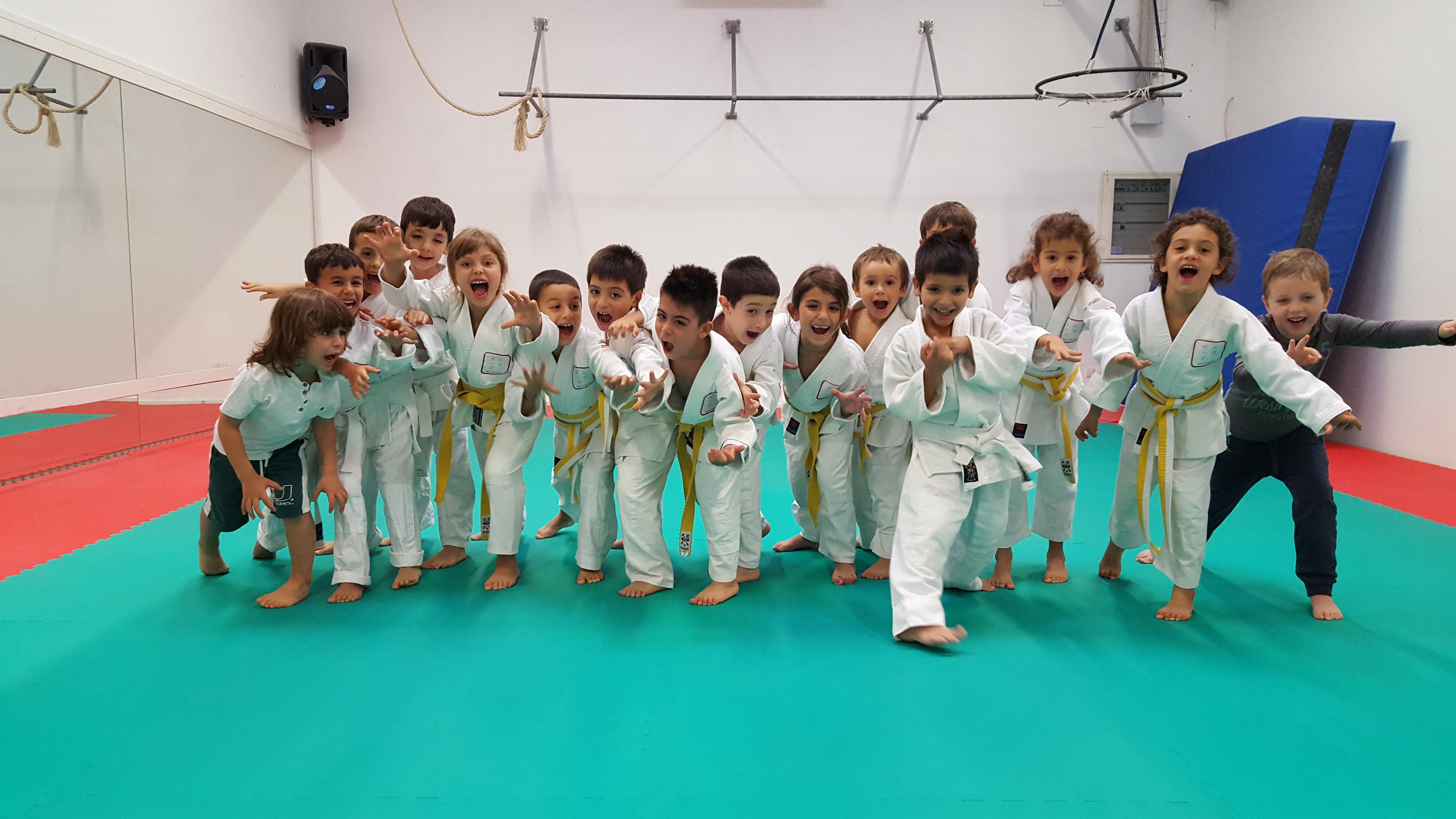 Judo bambini (3 – 6 anni)