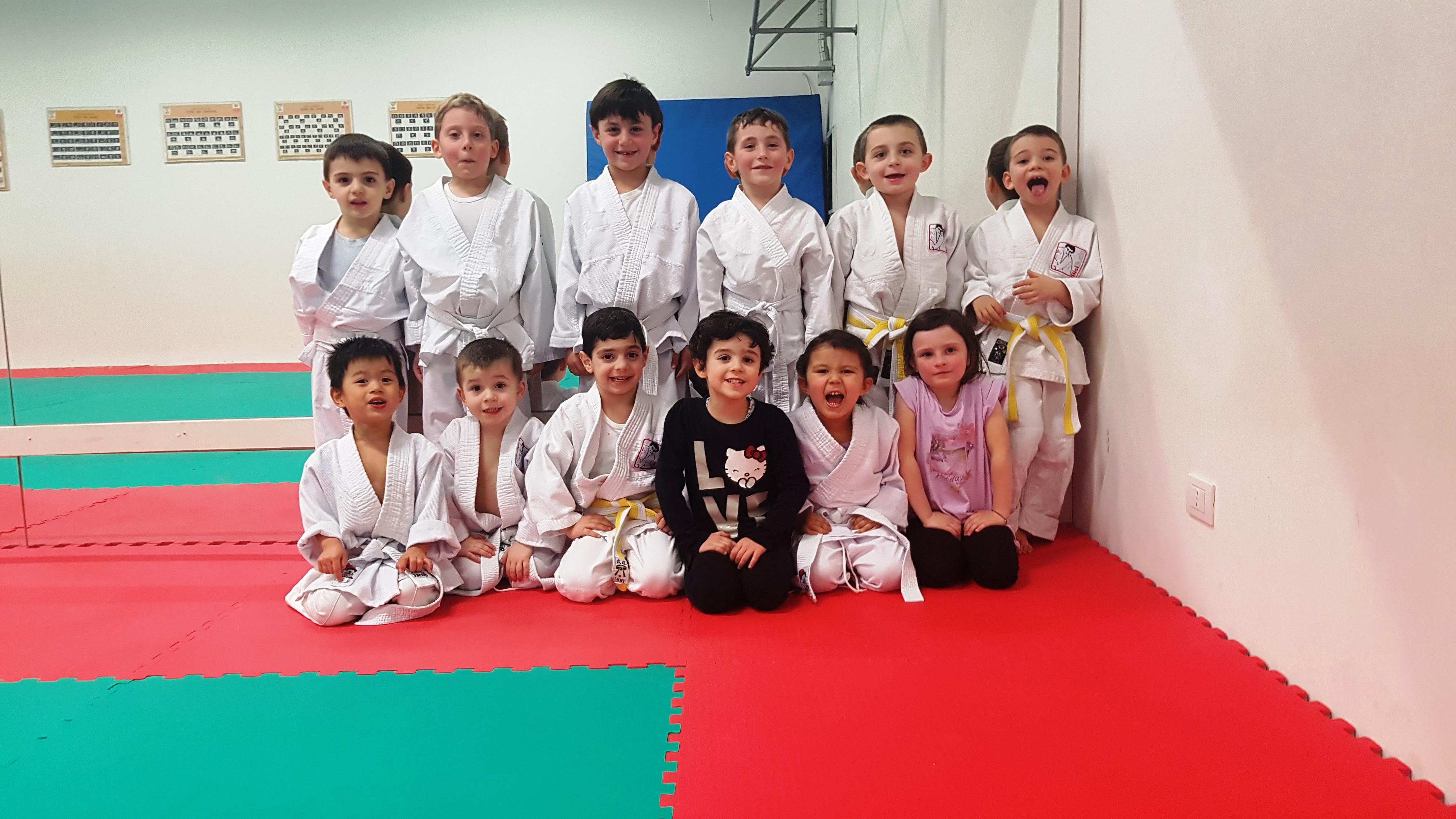 Judo bambini (3 – 5 anni)